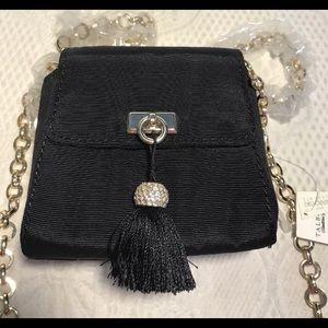 TALBOTS black mini evening bag